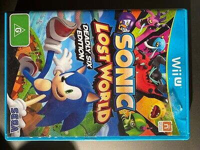 AU30.99 • Buy Sonic Lost World  - Wii U Game