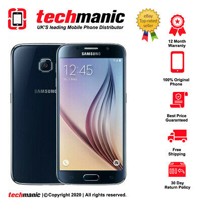 $ CDN145.31 • Buy Samsung Galaxy S6 - 32GB - Black Sapphire (Unlocked) Smartphone