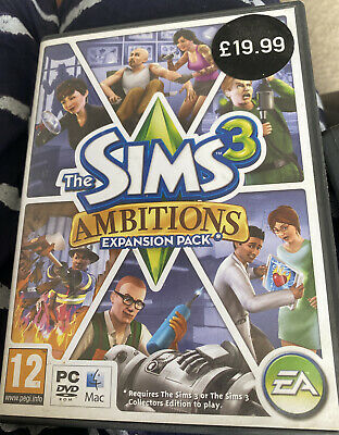 The Sims 3: Ambitions (PC: Mac, 2010) • 3.40£