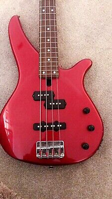 Yamaha RBX 170-Electric Bass Guitar-Metallic Red (With Bag) And Beginners Manual • 210£
