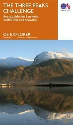 The Three Peaks Challenge Route Guides For Ben Nevis, Scafell P... 9780319089378 • 9.78£