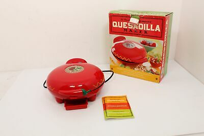 $19.99 • Buy The El Paso Chile Company Red Quesadilla Maker Model S676