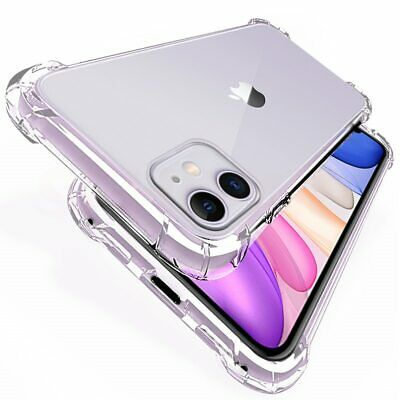 Case For IPhone 8 7 6 11 Plus XR XS MAX ShockProof Soft TPU Silicone Phone Cover • 1.89£