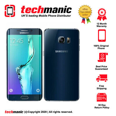 $ CDN162.40 • Buy Samsung Galaxy S6 Edge - 32GB - Black Sapphire (Unlocked) Smartphone