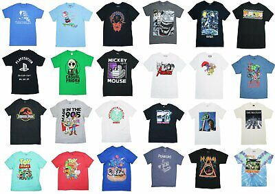 $ CDN13.58 • Buy Movie/TV/Music Pop Culture Graphic Short Sleeve T Shirt NWT Pick Style/Size