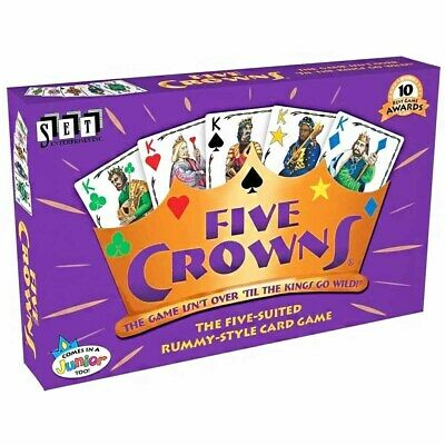 AU28.99 • Buy Five Crowns Card Game 5 Suites Classic Original Family Party Rummy Style Play
