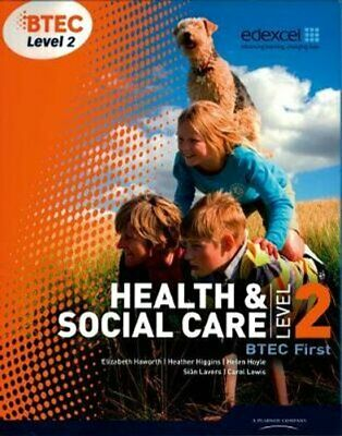 £30.89 • Buy BTEC Level 2 First Health And Social Care Student Book 9781846906817   Brand New
