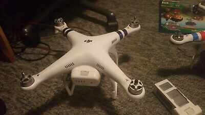 AU210.50 • Buy DJI Phantom 2 Drone With 2 Other P2's, 2 Controllers, HD-3D Gimbal, GoPro Hero3+