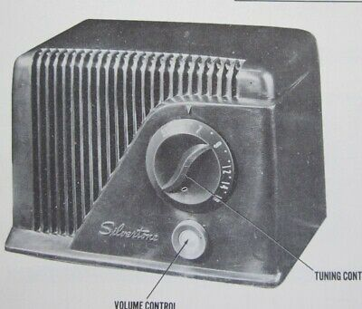 $ CDN13.81 • Buy 1949 SILVERTONE RADIO SERVICE MANUAL 9000 Chassis 132.857 Photofact SCHEMATIC