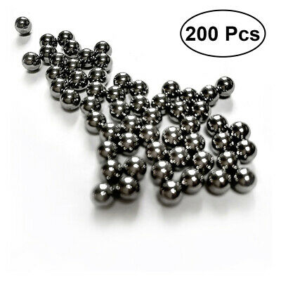 AU16.99 • Buy 200Pcs 6mm Stainless Steel Round Beads Bearings Ball For Slingshot Machine
