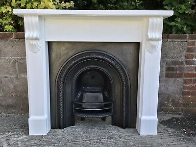 Victorian Style Arched Cast Iron Fireplace By Acqusitions Of London • 345£