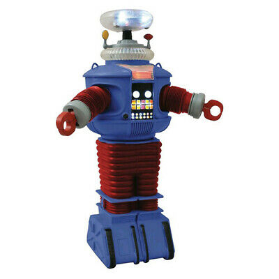 AU119.95 • Buy Lost In Space B-9 Retro Electronic Red-and-Blue Metallic Edition Robot