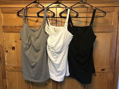 $11.99 • Buy Bravado Nursing Tanks - Lot Of 3