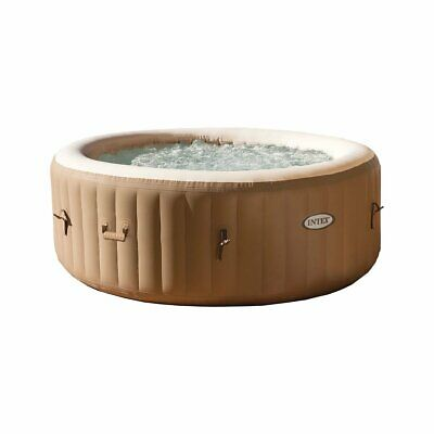 $799.99 • Buy Intex PureSpa 77 Inch 4 Person Inflatable Round Hot Tub Spa With Bubble Jets