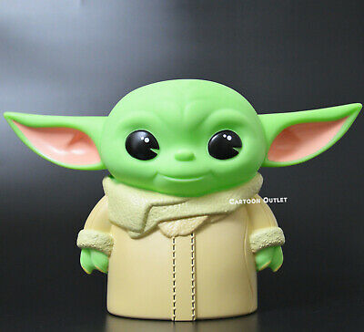 $17.99 • Buy Star Wars Baby Yoda Figural Bust Coin Bank Gift Molded PVC Piggy Bank The Child