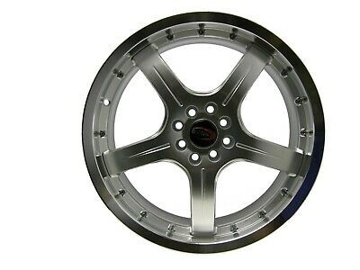 AU114.82 • Buy 18  Evoke F8 Style Alloy Wheels 4 Lug Pcd (100/108) Hyper Silver  Single Piece