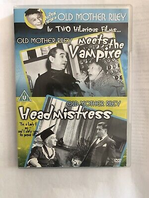 Old Mother Riley Meets The Vampire/Old Mother Riley Headmistress DVD (2006) • 8.50£