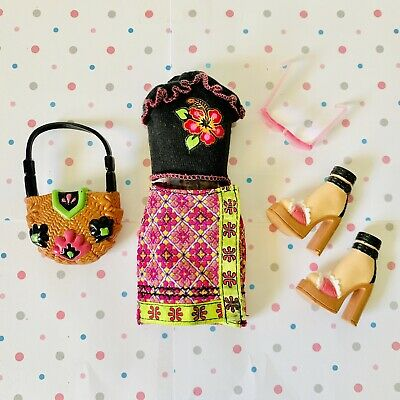 $9.50 • Buy My Scene Barbie Doll Clothes From Jammin In Jamaica Delancey Doll