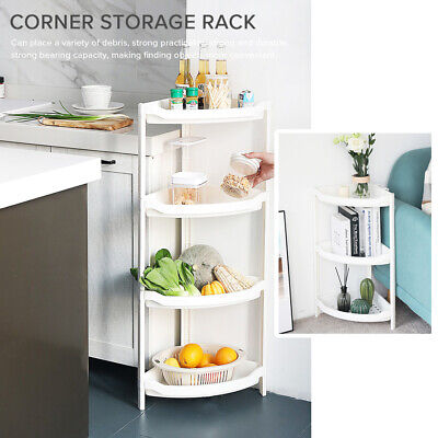 AU35.99 • Buy 4 Tier Shower Rack Telescopic Bathroom Adjustable Corner Caddy Shelf Storage