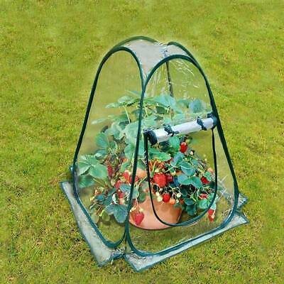 Mini Pop Up Garden Plants Flowers Cover Tent PVC Greenhouse Cloche Propagator EN • 22.49£