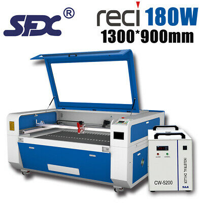 CO2 Laser Cutting/Engraving Machine,1300x900mm Acrylic/Paper/Wood Laser Engraver • 4,250£
