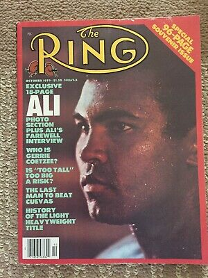 $6.95 • Buy Ring Magazine October 1979 Muhammad Ali Special 96 Page Souvenir Issue