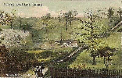 CHARLTON HANGING WOOD LANE  MOLYNEUX OF WOOLWICH SERIES Pu 1906.  GREENWICH • 5£