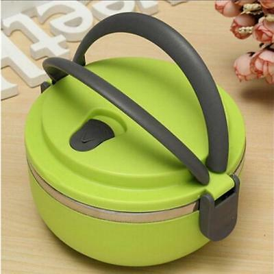 AU9.04 • Buy Hot Food Flask Stainless Steel Lunch Box Thermos Vacuum Insulated Travel YW