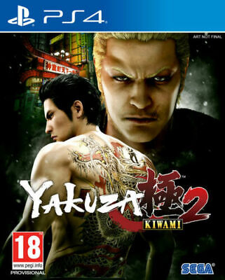 AU34.99 • Buy Yakuza Kiwami 2 PS4 Game