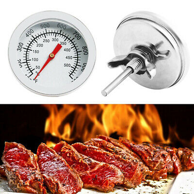 Stainless Steel Cooking Barbecue BBQ Grill Thermometer Temperature Gauge • 3.97£