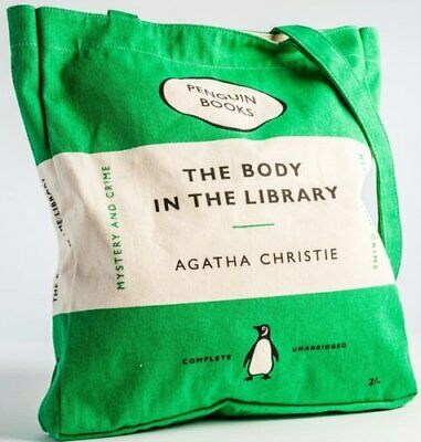 £12.20 • Buy Penguin Book Bag - Body In The Library By Agatha Christie 5060312813120