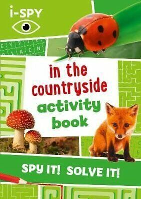 I-SPY In The Countryside Activity Book By I-SPY 9780008392864 | Brand New • 7.41£