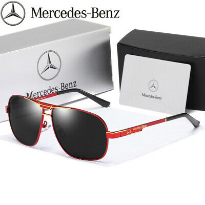 2020 New Unisex Mercedes Sunglasses Luxury Brand Men Polarized With Box UK • 14.98£