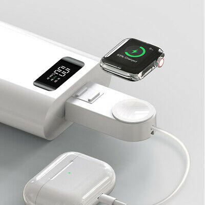 $ CDN17.33 • Buy Portable USB Magnetic Charging Wireless Charger For Apple Watch IWatch 5 4 3 2 1