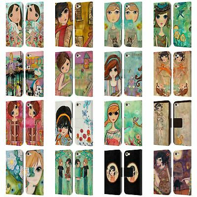 £16.81 • Buy OFFICIAL WYANNE BIG EYED GIRL LEATHER BOOK CASE FOR APPLE IPOD TOUCH MP3