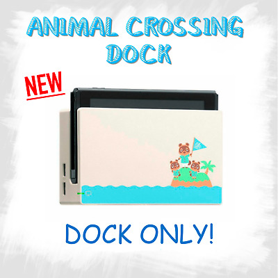 $93 • Buy Nintendo Switch Animal Crossing Dock New Horizons Edition CHARGING DOCK ONLY NEW