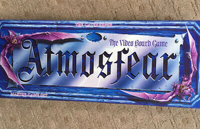 Atmosfear Video Board Game. The Gatekeeper . Master Game Set .Boxed & Complete • 4£