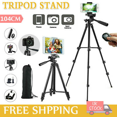 Universal Tripod Stand Telescopic Digital Camera Phone Holder Mount For IPhone • 9.49£
