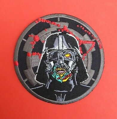£3.90 • Buy Darth Vader Zombie Iron On Patch Star Wars Movie Villain Film Character Prequel