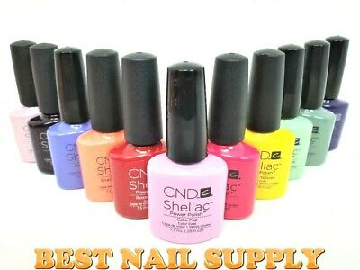 AU21.95 • Buy CND SHELLAC COLOURS 7.3ml (CLEARANCE)