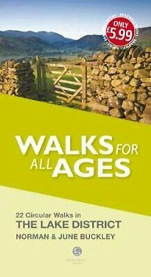 Walks For All Ages Lake District 20 Short Walks For All The Family 9781902674797 • 5.98£