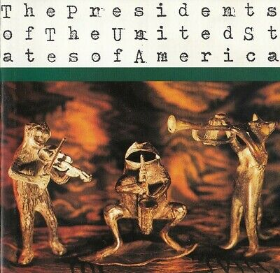 THE PRESIDENTS OF THE UNITED STATES OF AMERICA - Original 13 Track CD Album 1995 • 2.49£