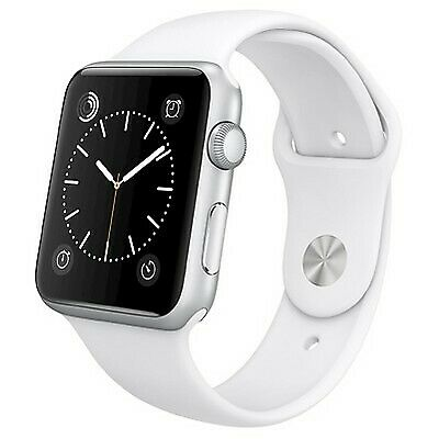 $ CDN179.05 • Buy Apple Series 1 42mm Aluminum Case Smart Watch - Silver/White (MNNL2LL/A)
