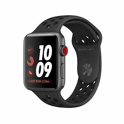 $ CDN383.58 • Buy Apple Watch Nike+ Series 3 42mm Smartwatch - Space Gray/Black (MQLD2LL/A)