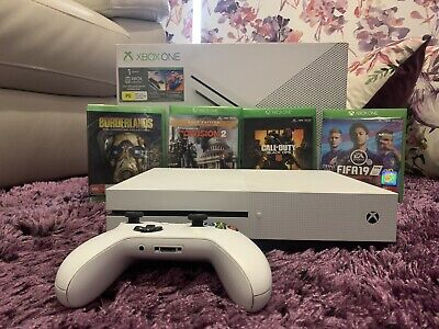 AU399.95 • Buy Xbox One S 500gb Console | Like New | 4 Games | Negotiable