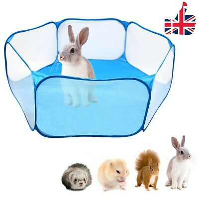 Pet Playpen Puppy Kitten Rabbits Hamster Cage Fence Baby Kids Playing Tent - UK • 11.35£
