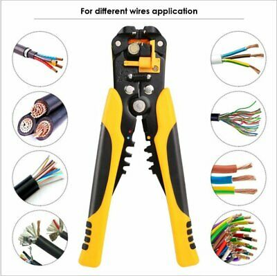 Self-Adjustable Automatic Cable Wire Crimper Crimping Stripper Plier Cutter WD • 9.93£