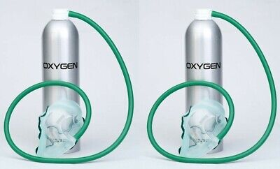 2 X 35 Litre Cans - Mask Included - Oxygen Pro - UK Made! • 82.99£