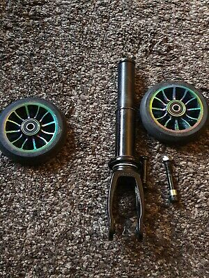 £35 • Buy  Mfx  Scooter Forks & Oil Slick Wheel's And Fixings