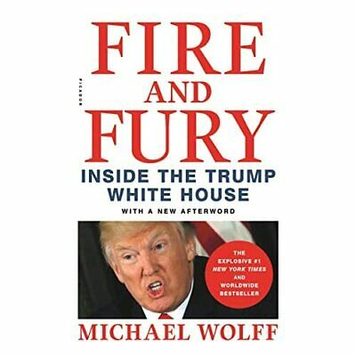 AU23.26 • Buy Fire And Fury: Inside The Trump White House - Paperback NEW Wolff, Michael 08/01